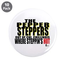 "The Original Pepper Steppers 3.5"" Button (10"