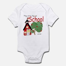 My First day of school 2008 Infant Bodysuit