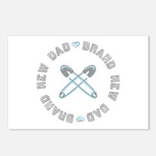 Brand New Dad Boy Postcards (Package of 8)