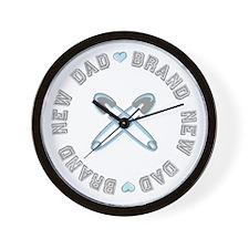 Brand New Dad Boy Wall Clock