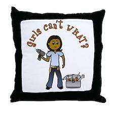 Dark Do-It-Yourself Throw Pillow