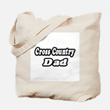"""""""Cross Country Dad"""" Tote Bag"""