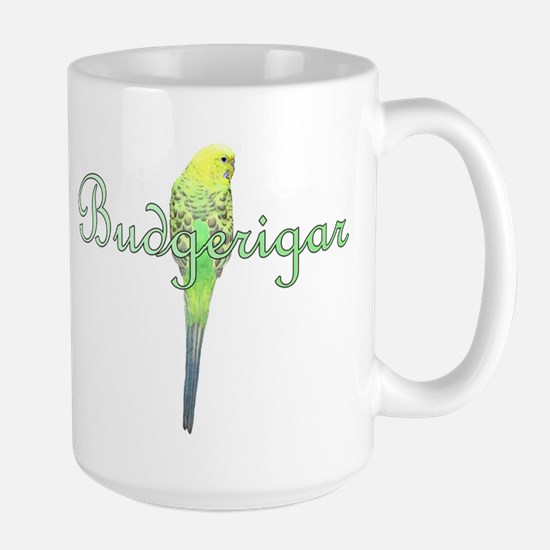 Fancy Budgie Large Mug