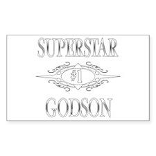 Superstar Godson Rectangle Decal