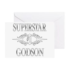 Superstar Godson Greeting Card