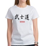 Japanese Bushido Kanji (Front) Women's T-Shirt