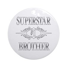 Superstar Brother Ornament (Round)