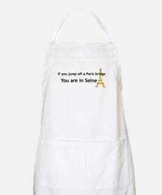 Funny French BBQ Apron