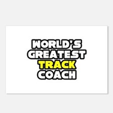 """Best Track Coach"" Postcards (Package of 8)"