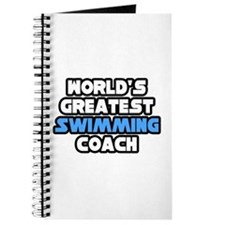"""Greatest Swimming Coach"" Journal"