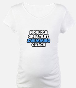 """Greatest Swimming Coach"" Shirt"