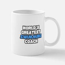 """Greatest Swimming Coach"" Small Small Mug"