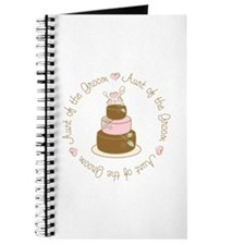 Aunt of the Groom Cake Journal