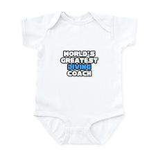 """""""Greatest Diving Coach"""" Infant Bodysuit"""