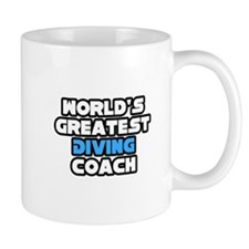 """Greatest Diving Coach"" Small Mug"