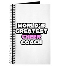 """Greatest Cheer Coach"" Journal"