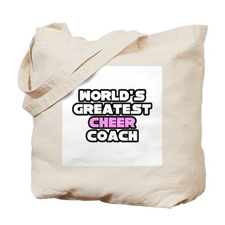 """Greatest Cheer Coach"" Tote Bag"