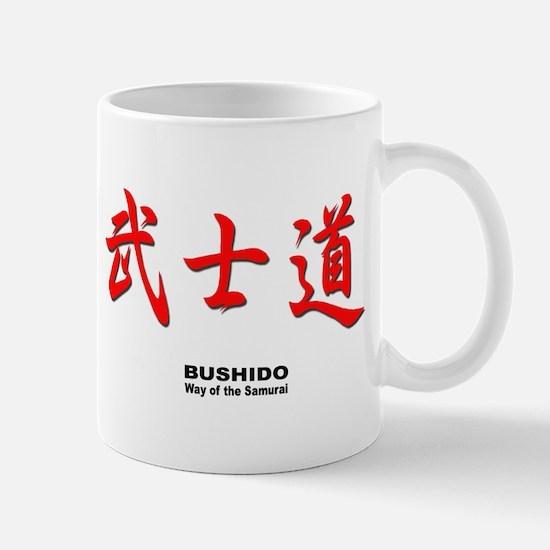 Samurai Bushido Kanji Mug