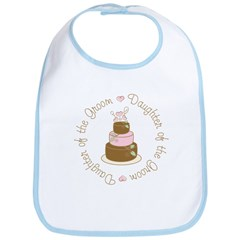 Daughter of the Groom Cake Bib