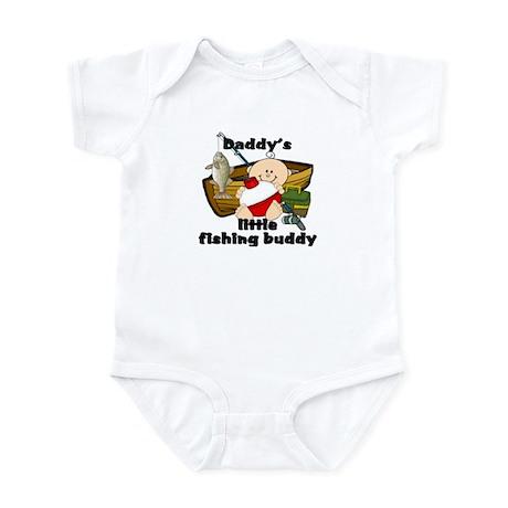 Daddy's Fishing Buddy B Infant Bodysuit