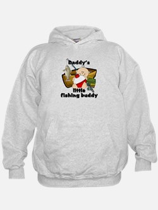 Daddy's Fishing Buddy B Hoodie