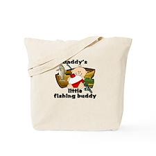 Daddy's Fishing Buddy B Tote Bag