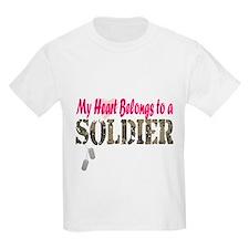 Heart Belongs to Soldier T-Shirt