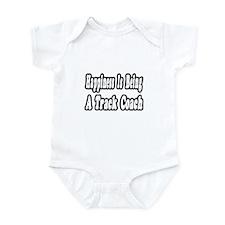 """Happiness: Track Coach"" Infant Bodysuit"