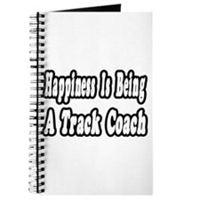 """Happiness: Track Coach"" Journal"