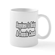 """Happiness: Tennis Coach"" Mug"
