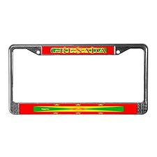 Grenada Grenadian Flag License Plate Frame