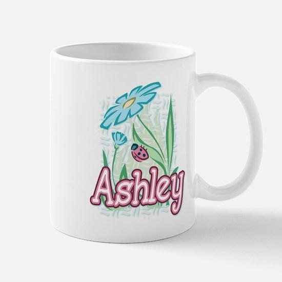 Ashley Ladybug Flower Mug