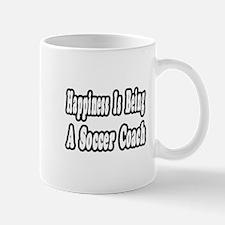 """Happiness: Soccer Coach"" Mug"