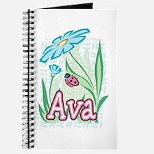 Ava Ladybug Flower Journal