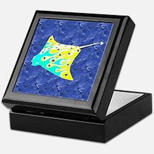 Manta Ray Keepsake Box