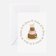 Mother of the Groom Cake Greeting Card