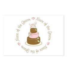 Niece of the Groom Cake Postcards (Package of 8)