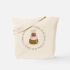 Sister of the Groom Cake Tote Bag