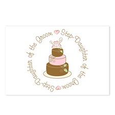 Step-Daughter of Groom Cake Postcards (Package of