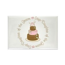 Step-Daughter of Groom Cake Rectangle Magnet
