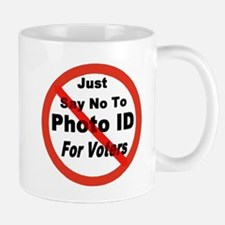 Just Say No To Photo ID For V Mug
