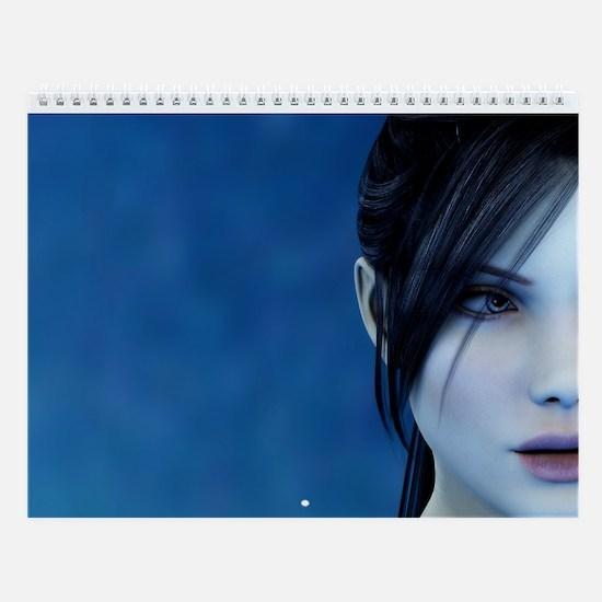 Pale Beauty (Wall Calendar)