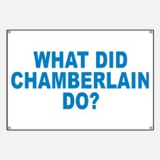 What Did Chamberlain Do Banner