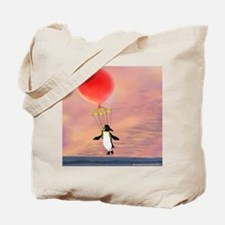 """I can fly"" penguin Tote Bag"