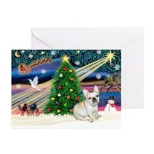 XmasStar/French BD (#1) Greeting Cards (Pk of 20)