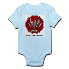 NOR Logo Cerchio Infant Creeper