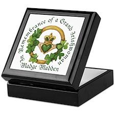 In Memory of Madge Madden Keepsake Box