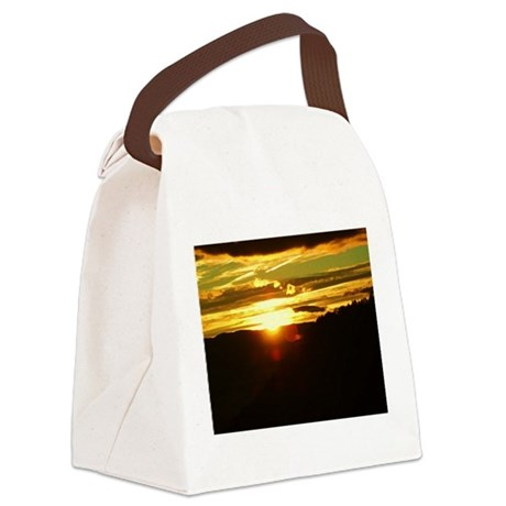 Tahoe Sunrise1 Canvas Lunch Bag