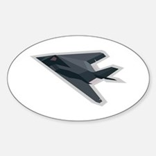 F117 Oval Decal
