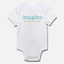 Imagine the World as One Infant Bodysuit